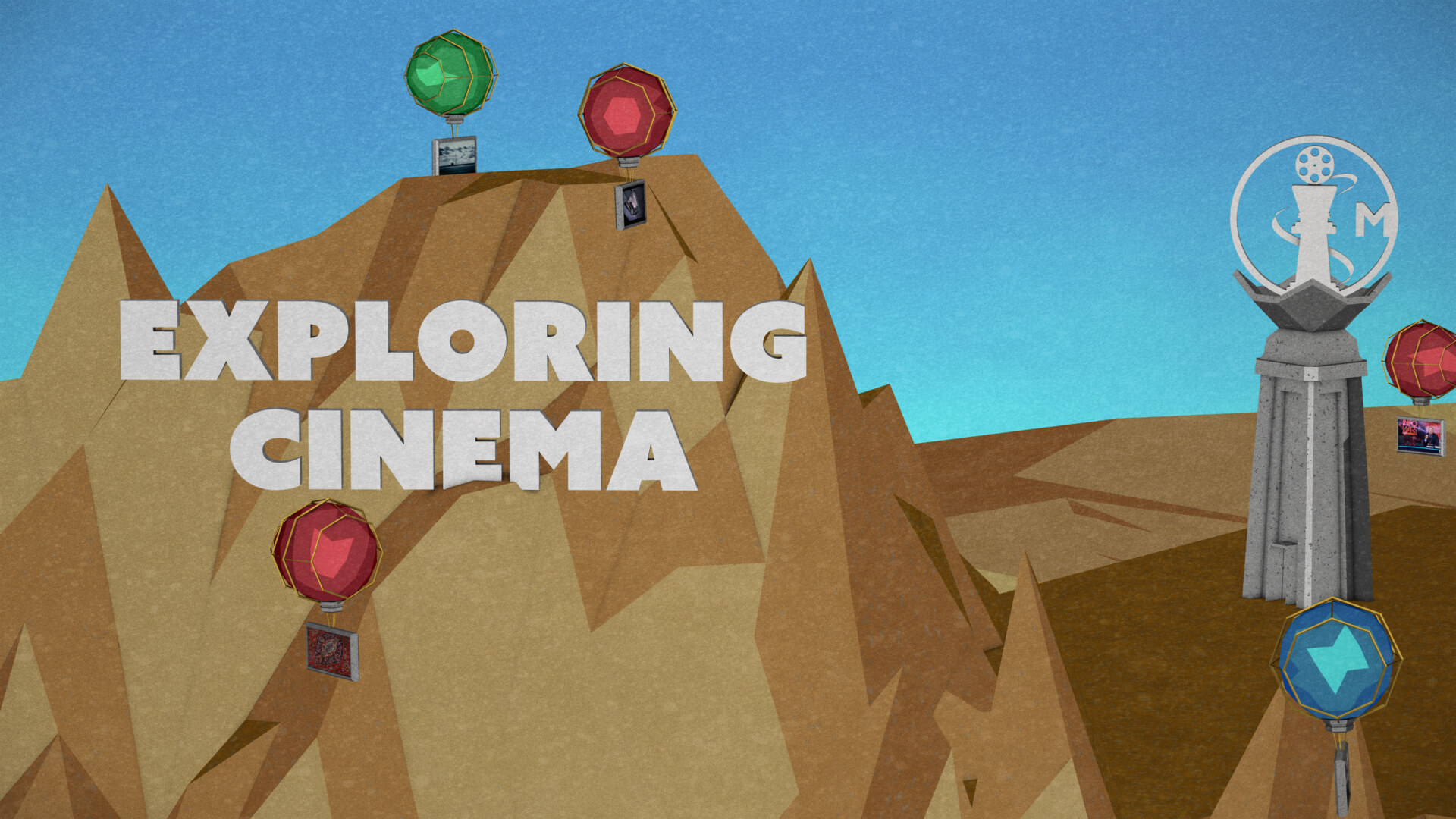 Exploring Cinema banner.