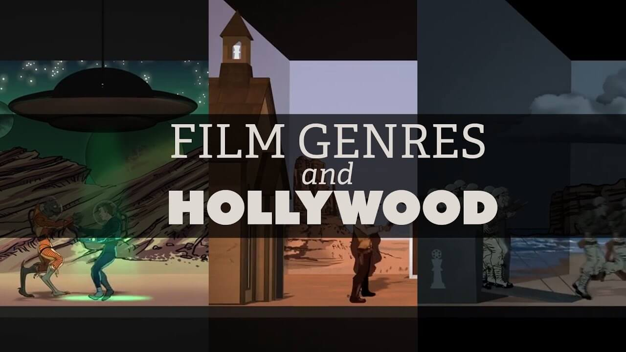 Film Genres and Hollywood banner.