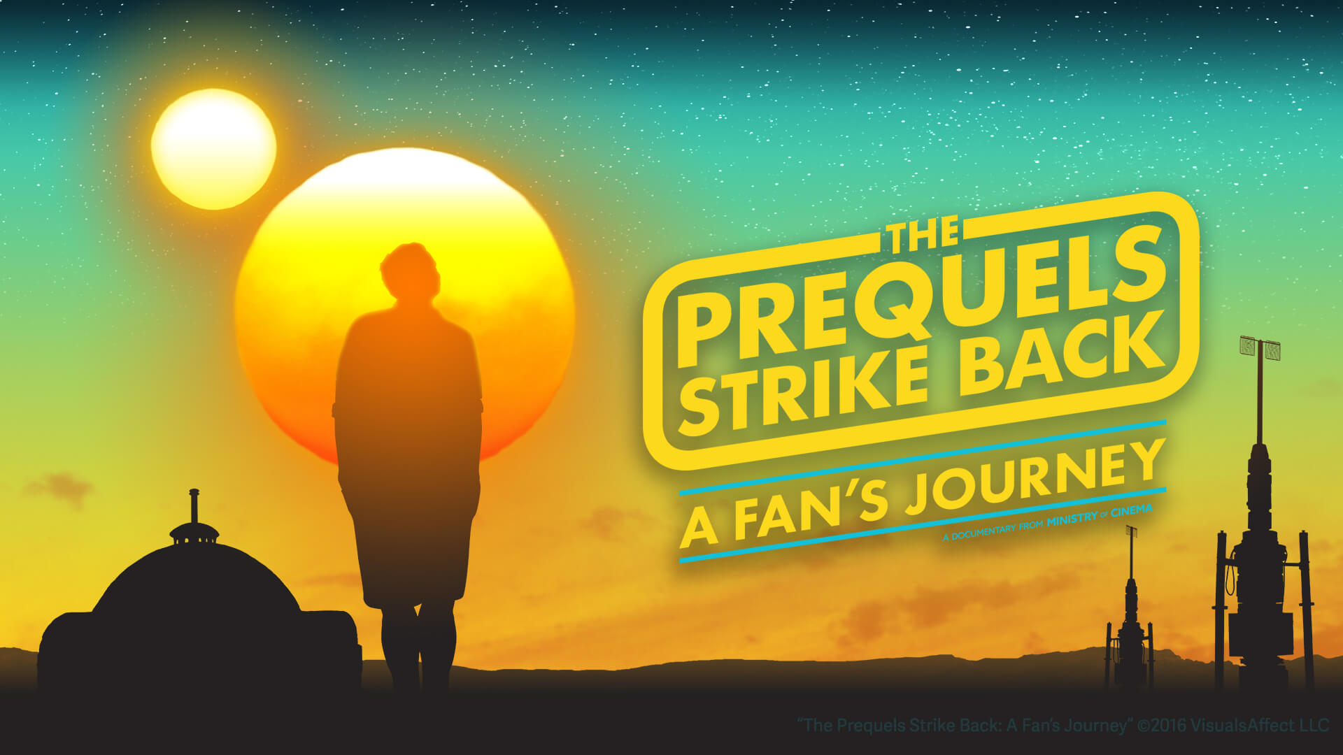 The Prequels Strikes Back: A Fan's Journey banner.